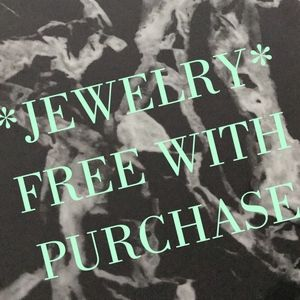 *FREE WITH PURCHASE- ALL JEWELRY*